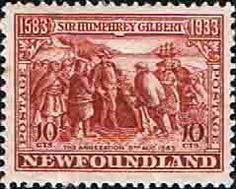 Newfoundland 1933 SG 244 Sir Humphrey Gilbert Annexation Fine Mint SG 244 Scott 220 Other British Commonwealth Empire and Colonial stamps Here