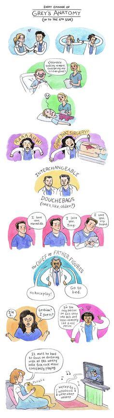 How Grey's anatomy really happened.