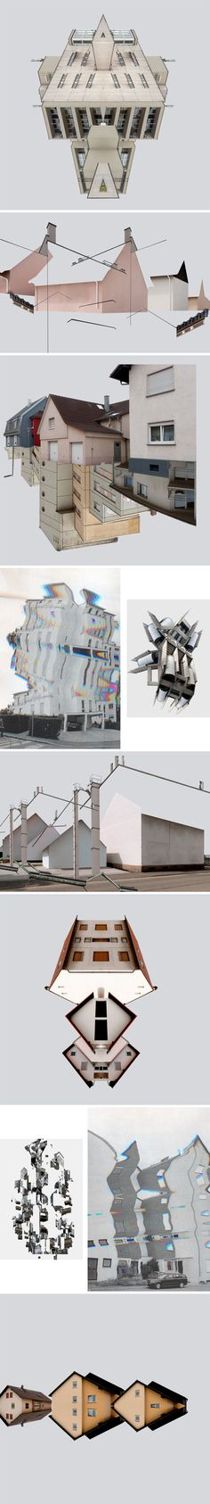 Graphic designes inspired by architecture by Patric Dreier. http://iciio.com/