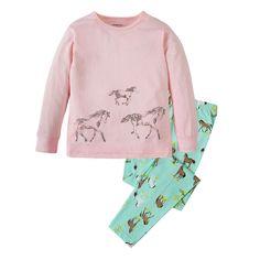 Kinderkleding kids paard pijamas baby meisjes paard pyjama pyjama mijn kleine pony pyjamas kinderen mooie lange mouwen katoen nachtkleding(China (Mainland))