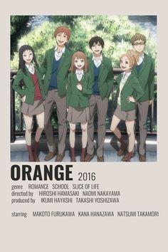 M Anime, Otaku Anime, Orange Anime, Poster Anime, Anime Titles, Japon Illustration, Anime Reccomendations, Movie Prints, Poster Prints