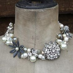 Vintage #brooches #necklace. by jody