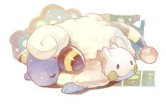 Mareep  Anime: Pokemon