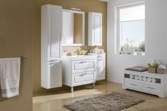 Tirol Biela arctic Biela arctic / Tirol arctic white / arctic white Double Vanity, Art Pieces, Bathroom, Bath Room, Artworks, Bathrooms, Bath, Bathing, Bathtub