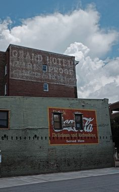 ghost signs for Grand Hotel – Fire Proof – Coca-Cola, Chattanooga