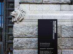 Nasjonalmuseet by Mission Design , via Behance