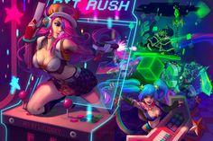 BIT RUSH ARCADE - League by lucidsky on DeviantArt