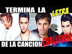 (7) TERMINA LA LETRA DE LA CANCIÓN | CHALLENGE ⚠🔥🎤😃🎧 - YouTube