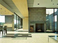 Desert House, Minimalist House House Design by TWBTA Architects