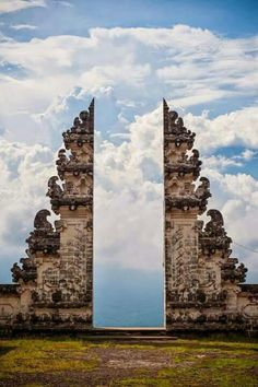 Gate to heaven ; Bali Indonesia