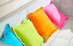 Contrast Trim Cotton Cushion available at Browsers Furniture Co., Limerick, Ireland. www.browsers.ie