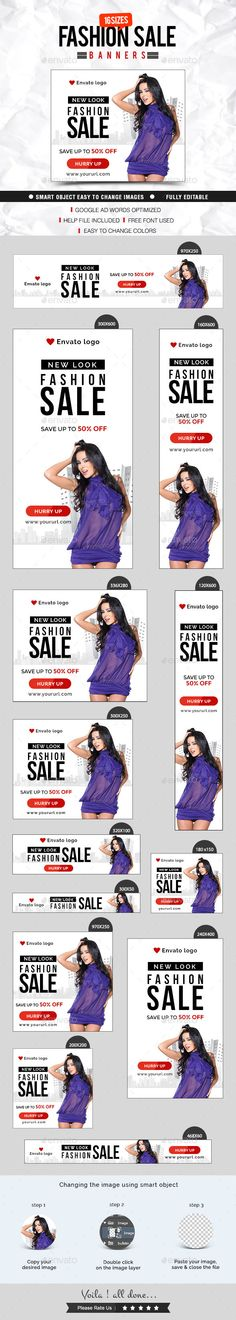 Fashion & Clothing Banner Design Template PSD | Buy and Download: http://graphicriver.net/item/fashion-clothing-banner-design/8923858?WT.ac=category_thumb&WT.z_author=doto&ref=ksioks