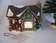"""Department 56 Snow Village """"Cedar Point Cabin"""" #55009"""