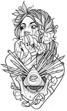 Sketches of tattoos for girls - BeatTattoo.com
