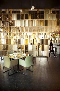 Joelia, restaurant in Rotterdam. #design #wall #restaurant