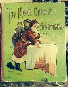 Christmas Shopping During Big Sales Old Christmas, The Night Before Christmas, Victorian Christmas, Father Christmas, Vintage Christmas Cards, Christmas Items, Christmas Images, Xmas, Vintage Children's Books