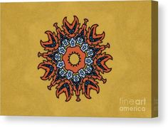 00641 Canvas Print featuring the digital art 00641 by Aileen Griffin