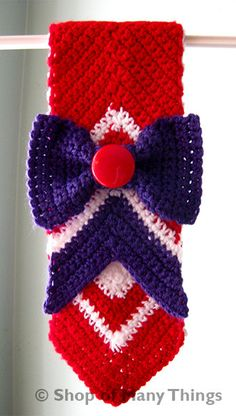 Sailor Mars Scarf by ShopOfManyThings on Etsy, $30.00