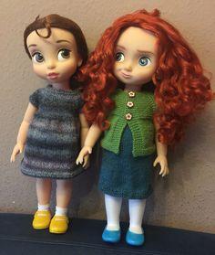 Disney Animators, dress, Knitting
