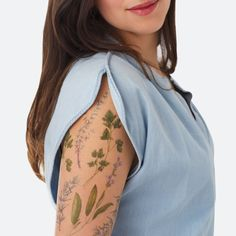 Culinary Herbs Scented Tattoo Set – The Colossal Shop