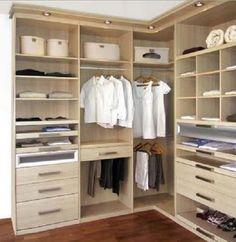 Resultado de imagen para modelos de woking closet pequeños