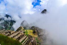 Machu Pichu in the Clouds by DesignThinkingNomad #ErnstStrasser #Peru Machu Picchu, Huayna Picchu, Lac Titicaca, Mexico Tourism, Peru Vacation, Voyager Loin, Beau Site, Destinations, Wayfarer