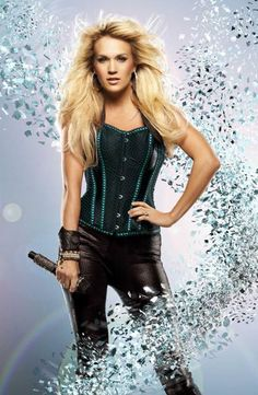 You go girl! Carrie Underwood is the new voice of the NFL Sunday Night Football theme song. Learn more about her performance: http://www.cmt.com/news/country-music/1713184/carrie-underwood-putting-added-muscle-in-sunday-night-football-theme.jhtml