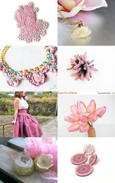 Just Pink by Rossi on Etsy--Pinned with TreasuryPin.com