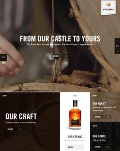 Braastad Cognac, June 5, 2014. http://www.awwwards.com/web-design-awards/braastad-cognac #UI #Inspiration #WebDesign #Video #Warm #BigBackgroundImages #SOTD #Awwwards