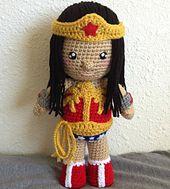 Ravelry: Wonder Woman Inspired Doll pattern by Thu Nguyen