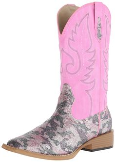 Roper Women's Pretty Camo Western Boot ** Don't get left behind, see this great boots : Women's cowboy boots