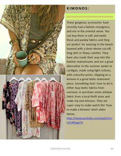 Bohemian kimonos, comfy and chic Bohemian Kimono, Boho Gypsy, Hippie Boho, Bohemian Style, Boho Chic, Bohemian Fashion, Diy Clothes Refashion, Diy Clothing, Sewing Clothes
