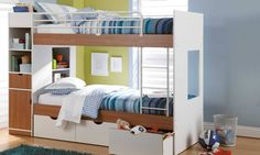 Olympus Bunk Bed by John Young Furniture from Harvey Norman New Zealand