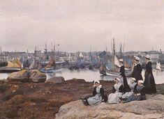 Concarneau+(Finistère),+circa+1911.+Autochrome+by+Jules+Gervais-Courtellemont.jpg (500×364)