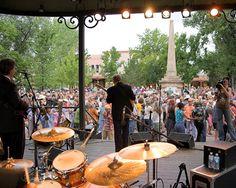 Tobias Lescht captures the Santa Fe Bandstand summer free music scene