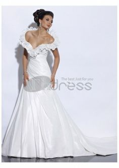 Abiti da Sposa Senza Spalline-Su misura estate piuttosto in abiti da sposa senza spalline