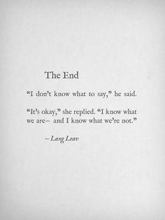 damn end.