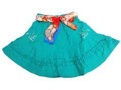 leuk strokenrokje met elastische boord en sjaaltje als ceintuur    Nieuwe collectie in 3 kleuren leverbaar   in maat 92 - 98/104 - 110/116 - 122/128 - 134/140 - 146/152  €11,95  www.ctkidswear.nl