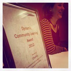 Enspiral - Chalkle° Wins Dynamic Community Learning Award!