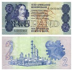 An old South African 2 Rand note (ZAR) from the late This note has since been replaced with a coin. South African Air Force, South African Design, Money Notes, Learning Websites, My Family History, Artists For Kids, World Coins, African History, The Good Old Days