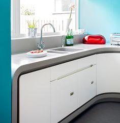 Corian Scifi Inspired Kitchen with Corian Doors and worktops.JPG