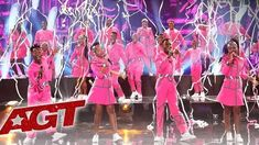 The South African Youth Choir, Ndlovu in trendy pink, has won the hearts of the entire world with their spirited rendition of U2's song Beautiful Day. Their pink costumes and African street-style jewellery made a massive impact on the audience and the judges. Even Simon Cowell was enthralled !