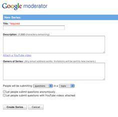"Try using Google Moderator to have students respond to and post course-related questions before class. Students (and you) can mark the responses that are the most relevant with either a check mark or an ""X""--this allows you to prioritize the ranked responses and promote student discussion based on the student-generated questions and responses."