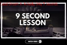 Lucid Dream In Actually Only 9 Seconds