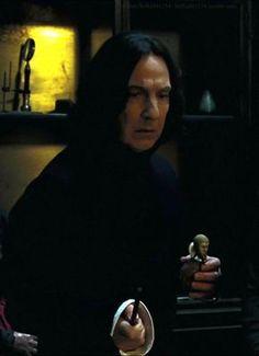 Alan Rickman as Professor Severus Snape