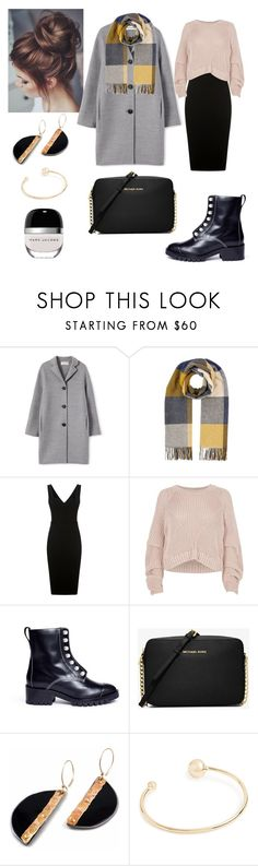 """Untitled #152"" by sleepintheclouds ❤ liked on Polyvore featuring Whistles, Victoria Beckham, River Island, 3.1 Phillip Lim, Michael Kors, Gorjana, Marc Jacobs, outfit, lookbook and Polyvoreoutfits"