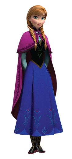 Princess Anna Frozen PNG Clip Art Image   Gallery Yopriceville - High-Quality Images and Transparent PNG Free Clipart
