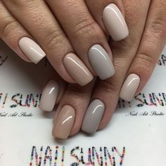 "8,904 Likes, 17 Comments - +7(915)47-4444-1MOSCOW (@nail_sunny) on Instagram: ""Grey&Nude LUXIO+ OPIGELCOLOR , мастер Таня Б., Новый Арбат 23 8-916-743-1-777 стоимость:…"""