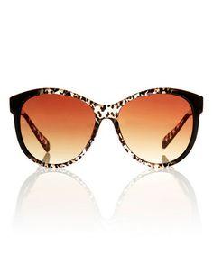 Brown Leopard Sunglasses #zulily #zulilyfinds