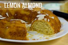 Another gluten free almond lemon cake to try